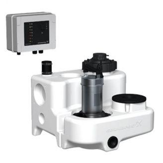 Канализационная установка Grundfos Multilift MSS.11.3.2 с кабелем 10 м и клапаном, 3х400V (арт.97901029)