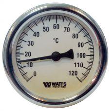 Термометр Watts F+R810 TCM 63 (120 C) накладной с пружиной