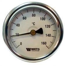 Термометр Watts F+R801 63/50 (160 C) с погружной гильзой
