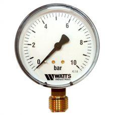 "Манометр Watts F+R200 80/10 радиальный G 1/2"" от 0 до 10 бар"