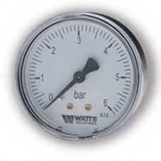 "Манометр Watts F+R100 63/6 аксиальный G 1/4"" от 0 до 6 бар"