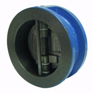 Клапан обратный Genebre DN 200 двухстворчатый, межфланцевый, чугун