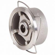 Клапан обратный Genebre DN 15 пружинный, межфланцевый, нерж. сталь