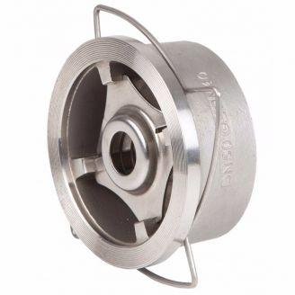 Клапан обратный Genebre DN 125 пружинный, межфланцевый, нерж. сталь