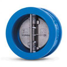 Клапан обратный Water Technics DFC WT DN 50 двухстворчатый, межфланцевый, чугун