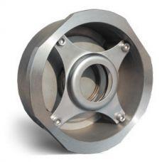 Клапан обратный Water Technics SCS WT DN 32 пружинный, межфланцевый, нерж. сталь