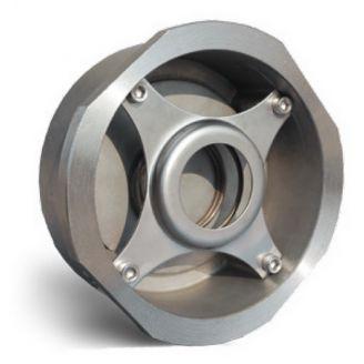 Клапан обратный Water Technics SCS WT DN 15 пружинный, межфланцевый, нерж. сталь