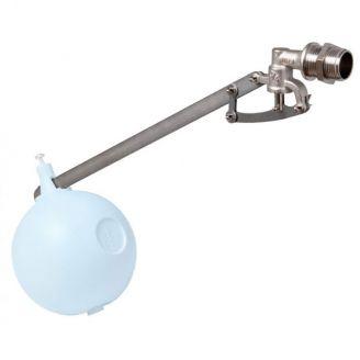 """Поплавковый клапан FARG 1 1/4"""" седло латунь, штанга нерж.сталь, длина 500 мм"""