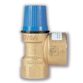 """Клапан предохранительный Watts SVW 8 для водоснабжения (1/2"""" х 3/4"""", 8 бар)"""