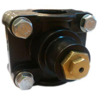 "Клапан зимнего слива 1/2"", 0,8 бар в комплекте с врезкой под ПНД 32 мм"