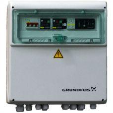 Шкаф управления Grundfos для 2-х насосов LCD 108.230.1.2x12A (30/150) DOL (3,2-12А, ~1х220V)