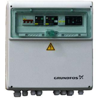 Шкаф управления Grundfos для 2-х насосов Control LCD 108s.3.9-13A DOL 4