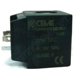 Катушка для клапана CEME н.о. AC ~ 24В 50Hz
